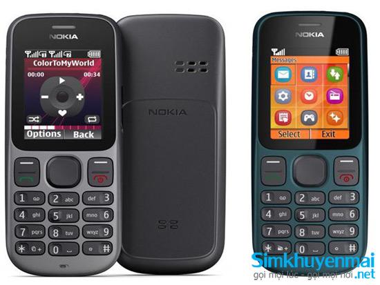Mua sim trả sau tặng điện thoại Nokia N100 chính hãng