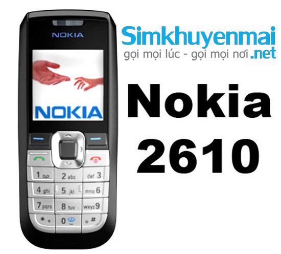 BánĐiên thoại nokia 2610 giá rẻ