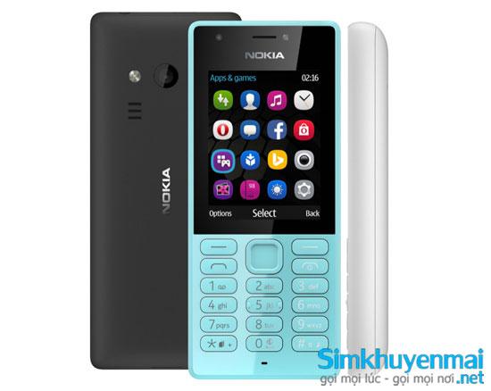 Nokia 216 giá rẻ 2 SIM 2 sóng