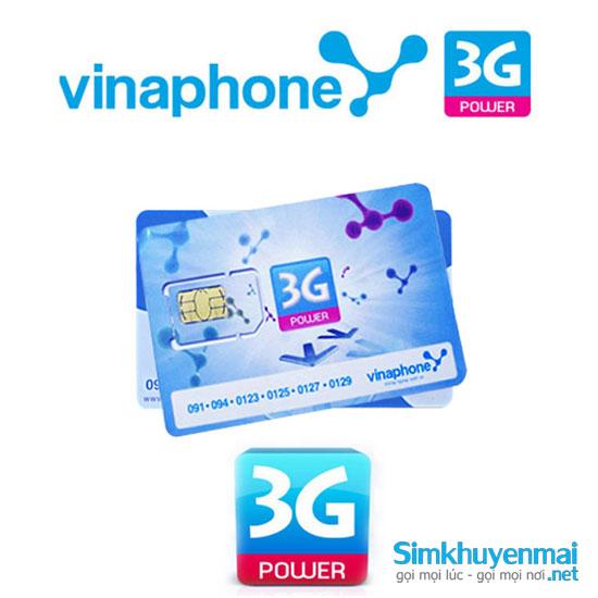Sim 3G vinaphone giá rẻ